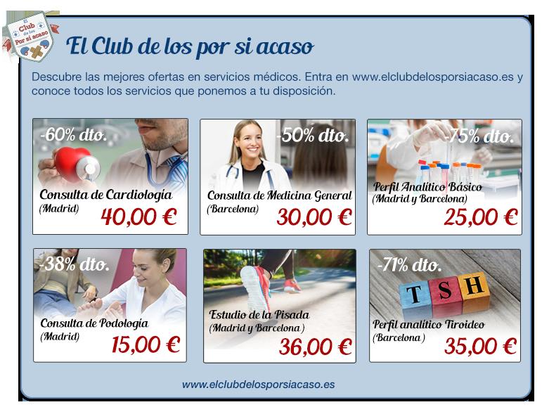 Consulta de Cardiologia en Madrid por 40€